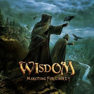 Wisdom - Marching for Liberty cover art