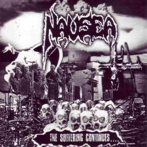Nausea - The Suffering Continues cover art