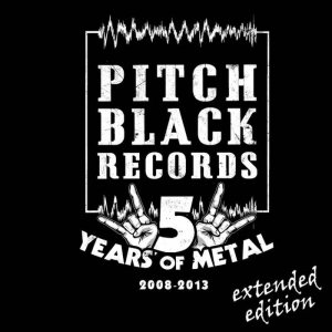 Various Artists - Pitch Black Records 5 Years (Sampler) [2008​-​2013] cover art