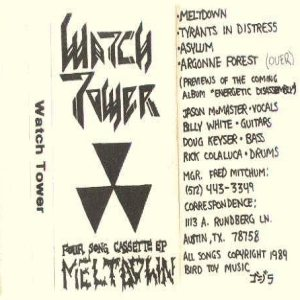 Watchtower - Meltdown cover art
