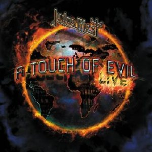 Judas Priest - A Touch of Evil: Live cover art
