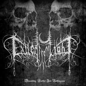 Exiled from Light - Descending further into Nothingness cover art