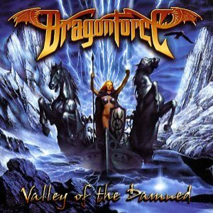 Dragonforce - Valley of the Damned cover art