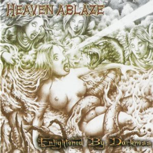 Heaven Ablaze - Enlightened By Darkness cover art