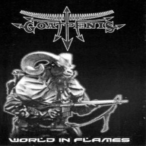 GoatPenis - World in Flames cover art