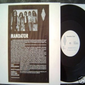 Mandator - I Will Be Your Last cover art