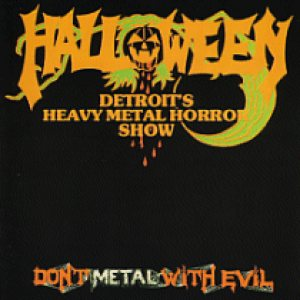 Halloween - Don't Metal with Evil cover art