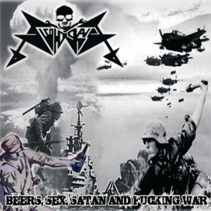 Alcoholokaust - Beers, Sex, Satan and Fucking War cover art
