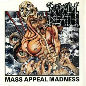 Napalm Death - Mass Appeal Madness cover art
