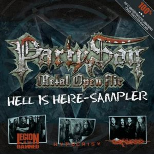 Carcass / Hypocrisy / Legion of the Damned - Party.San Metal Open Air - Hell Is Here-Sampler cover art