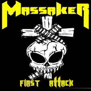 Massaker - First Attack cover art