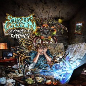 Parasitic Ejaculation - Echoes of Depravity cover art