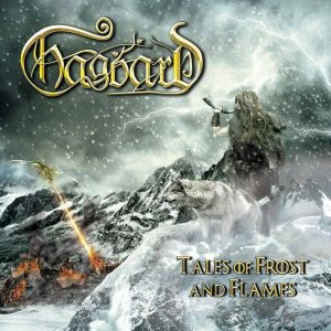 Hagbard - Tales of Frost and Flames cover art