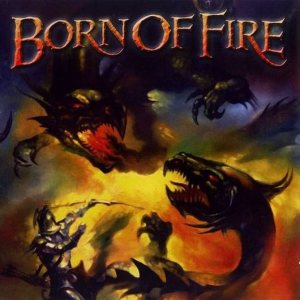 Born of Fire - Anthology cover art