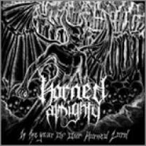 Horned Almighty - In the Year of Our Horned Lord cover art