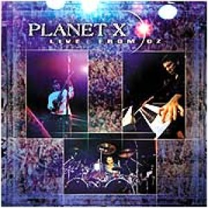 Planet X - Live From Oz cover art