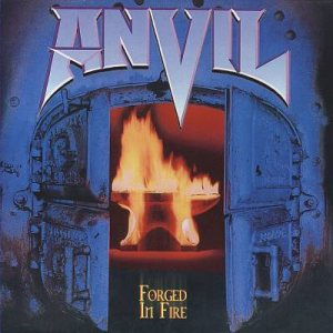 Anvil - Forged in Fire cover art