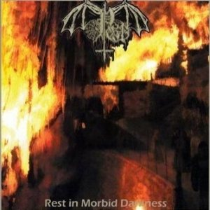 Pest - Rest in Morbid Darkness cover art
