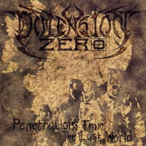 Dimension Zero - Penetrations from the Lost World cover art
