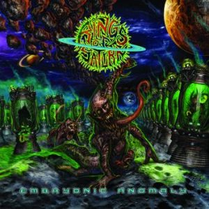Rings of Saturn - Embryonic Anomaly cover art