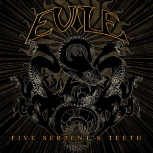 Evile - Five Serpent's Teeth cover art