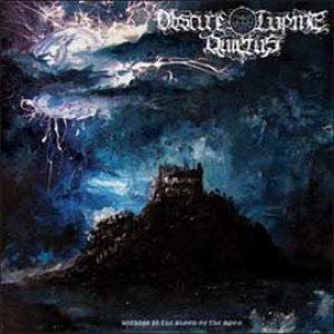 Obscure Lupine Quietus - Bathing in the blood of the moon cover art