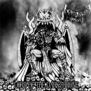 Exsanguination Throne - Lord of the Darkthrone cover art