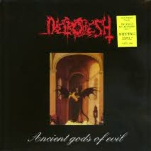 Necroflesh - Black Vein / Ancient Gods of Evil cover art