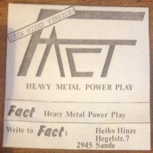 Fact - Heavy Metal Power Play cover art