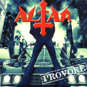 Altar - Provoke cover art