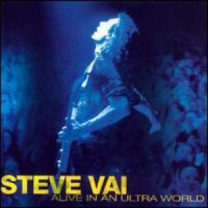 Steve Vai - Alive in an Ultra World cover art