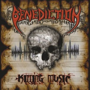 Benediction - Killing Music cover art