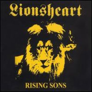 Lionsheart - Rising Sons: Live in Japan 1993 cover art