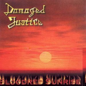 Damaged Justice - Bloodred Sunrise cover art