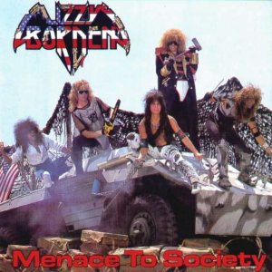 Lizzy Borden - Menace to Society cover art