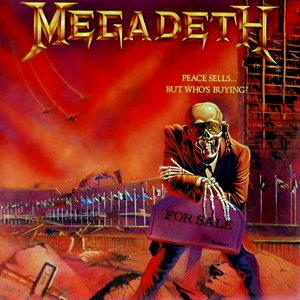 Megadeth - Peace Sells... But Who's Buying? cover art
