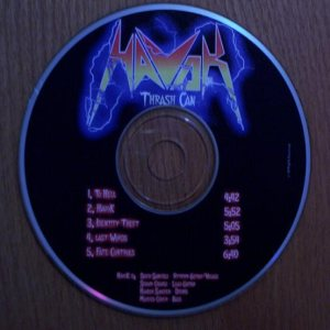 Havok - Thrash Can cover art