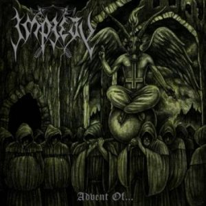 Impiety - Advent of... cover art