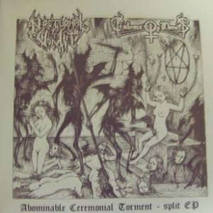 Nocturnal Vomit / Embrace of Thorns - Abominable Ceremonial Torment cover art