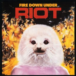 Riot - Fire Down Under cover art