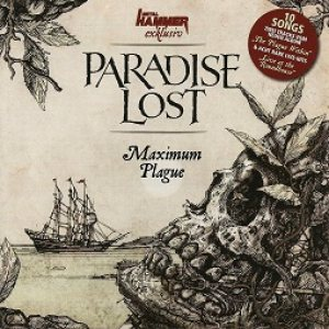 Paradise Lost - Maximum Plague cover art