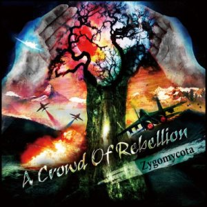 a crowd of rebellion - Zygomycota cover art