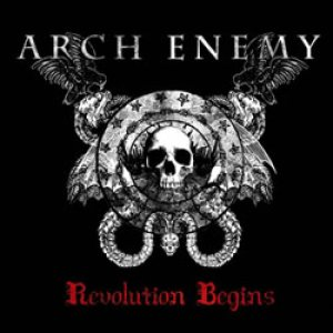 Arch Enemy - Revolution Begins cover art