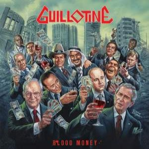 Guillotine - Blood Money cover art