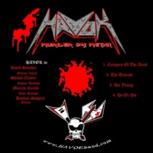 Havok - Murder By Metal cover art