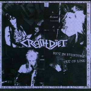 Crashdiet - Riot in Everyone / Out of Line cover art
