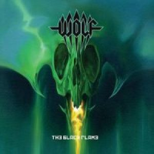 Wolf - The Black Flame cover art