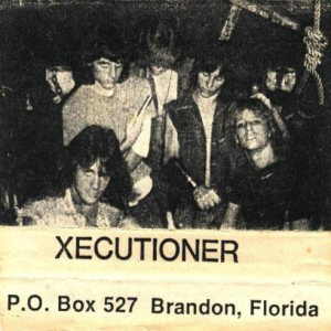 Xecutioner - Demo 1986 cover art