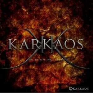 Karkaos - In Burning Skies cover art