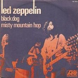 Led Zeppelin - Black Dog cover art